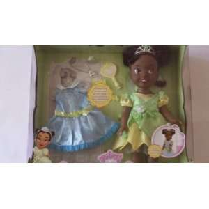 My First Disney Princess Tiana Doll with Holiday Dress