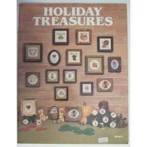 Holiday Treasures Stitching Craft Book Books