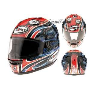 Suomy Spec 1R Gadea Red Full Face Helmet  Sports