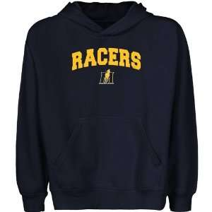 Murray State Racers Youth Navy Blue Logo Arch Pullover Hoody