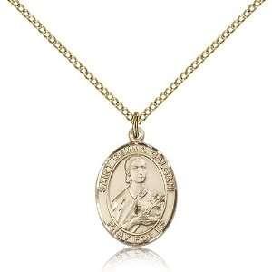 Genuine IceCarats Designer Jewelry Gift Gold Filled St. Gemma Galgani