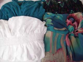 Plus Size Lot of 4 SEXY Flirty Sun Dresses 2X 18 20 FOREVER 21