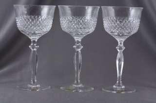 Lot 3 Spiegelau German Crystal Diamond Point Wine Glass