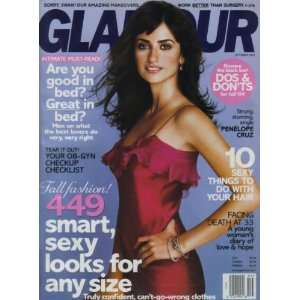 Magazine September 2004 Back Issue ~ Penelope Cruz Cover Books