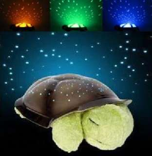 New Twilight Turtle Night Light Stars Projector Constellation Lamp