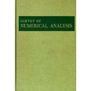 A Survey of Numerical Analysis John odd Books