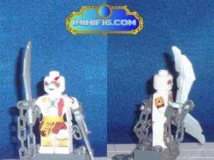 Custom LEGO minifig God of war Kratos