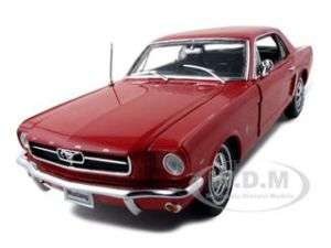 1964 1/2 FORD MUSTANG RED HT 118 DIECAST MODEL