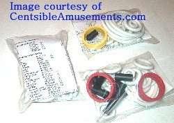 Rubber ring kit Gottlieb BUCK ROGERS pinball machine