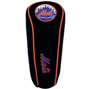 New York Mets Black Team Logo Golf Club Headcover Sports
