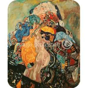 Gustav Klimt Fine Art Baby MOUSE PAD