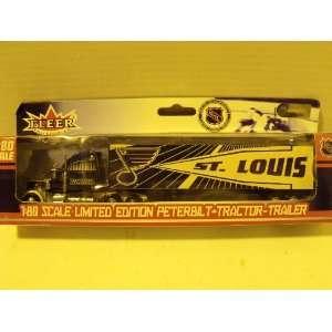 NHL 180 St. Louis Blues Peterbilt Tractor Trailer Toys & Games