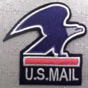 US MAIL Logo Eagle Embroidered Logo PATCH: Everything Else