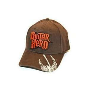 Guitar Hero Baseball Cap Hat   Logo (Brown/Red) Toys
