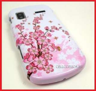 SAMSUNG FOCUS AT&T PINK ASIAN FLOWER HARD COVER CASE