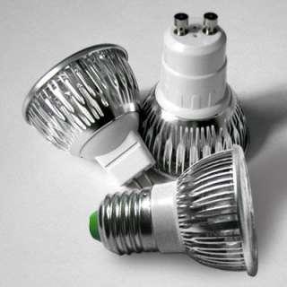 /220V E27/220V 3x3W Led Light Warm Cool White Light Bulb Lamp