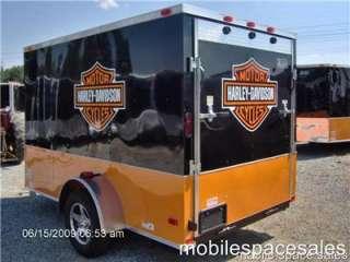 trailer harley Davidson decal 6x10 ramp door toy hauler NEW