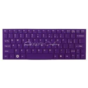Purple keyboard Cover/Skin Protector for Sony VAIO YA YB series laptop