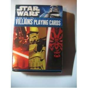 Star Wars Villains Playing Cards 52 Card Deck Toys