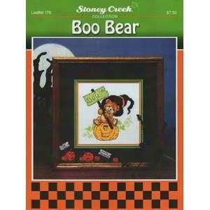Boo Bear   Cross Stitch Pattern: Arts, Crafts & Sewing