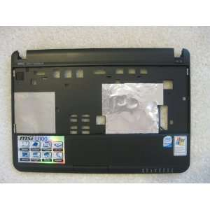 MSI Wind U100 black front bezel cover touchpad