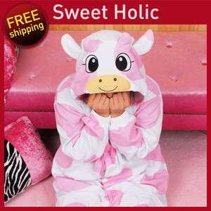 SWEET HOLIC Kigurumi Halloween Costumes Christmas Animal Pajamas Pink