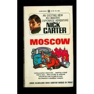 Moscow Nick Carter Books