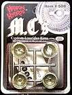 hoppin hydros chrome mcs plastic model lowrider rims expedited