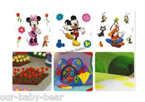 Make Your Own MICKEY MOUSE CLUBHOUSE Stickers Kid Party Goody Bag