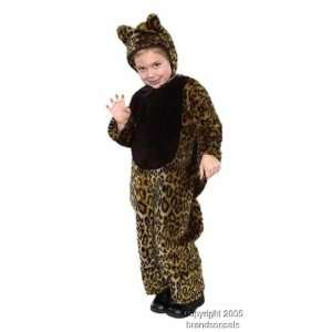 Childs Toddler Cheetah Halloween Costume (2 4T): Toys