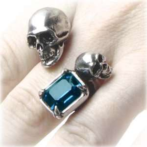 In the Shadow of Death Alchemy Gothic Spati Ring medium Jewelry