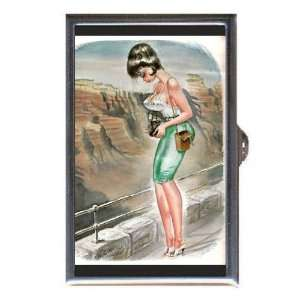 Bill Ward Grand Canyon Pin Up Coin, Mint or Pill Box Made