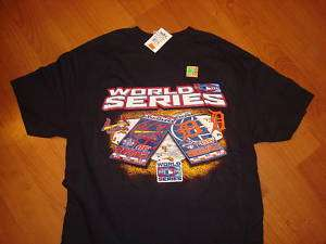 ST LOUIS CARDINALS WORLD SERIES CHAMPS shirt SZ MEDIUM
