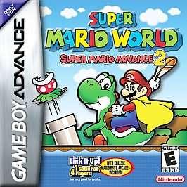 Super Mario Advance 2 Super Mario World (Nintendo Game Boy Advance