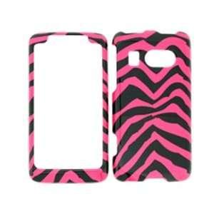 Premium   AT&T HTC SURROUND PINK ZEBRA COVER CASE