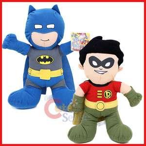 Marvel DC Comics Baby Batman & Robin Plush Doll Set  14