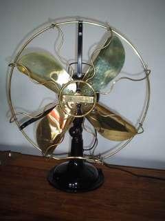 Antique Vintage 1926 Italian Marelli Verno Electric Fan Restored