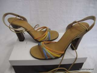Marc Jacobs Multicolor Strappy High Heel Sandals sz 7.5
