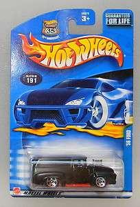 Hot Wheels 2002 Mainline #191 56 Ford M1