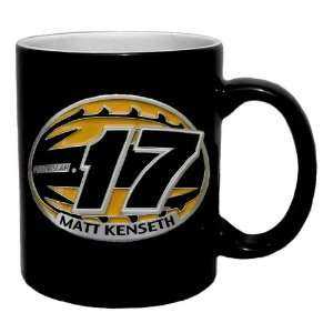 17 MATT KENSETH 2 Tone Coffee Mug   NASCAR NASCAR   Fan Shop Sports