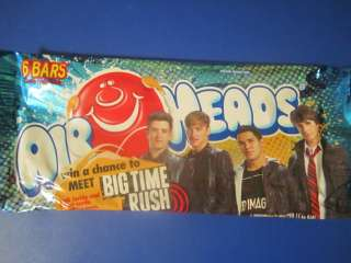 Lot of 6 + BONUS Big Time Rush card (James, Logan, or Carlos)
