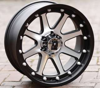 Black wheels rims KMC XD 798 Jeep Wrangler 2007 2012 only 5x5