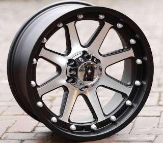 Black wheels rims KMC XD 798 Jeep Wrangler 2007 2012 only 5x5
