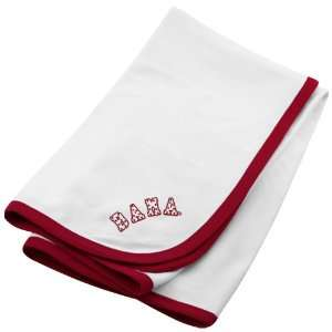 NCAA Alabama Crimson Tide White School Name Soft Cotton