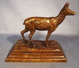 LLAMA BRONZE STATUE FIGURE ANTIQUE GERMAN 1890´S DA7