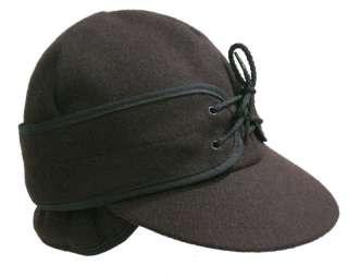 Beaver Brand Railroad Style Wool Winter Cap Hat 6 5/8