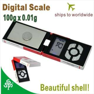 Digital Pocket Scale Tool 0.01 100 gram Scale 0.01g precision