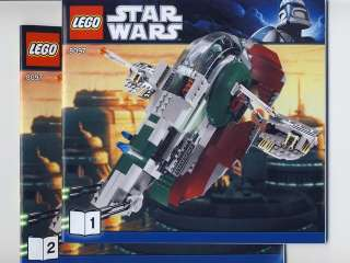 Lego Star Wars 8097 Slave I Instructions only NEW