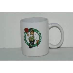 NBA Licensed Boston Celtics White Ceramic 11 Oz Coffee Mug