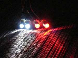 RC LED LIGHT KIT 2 WHITE 2 RED BUY 3 SETS GET 1 FREE
